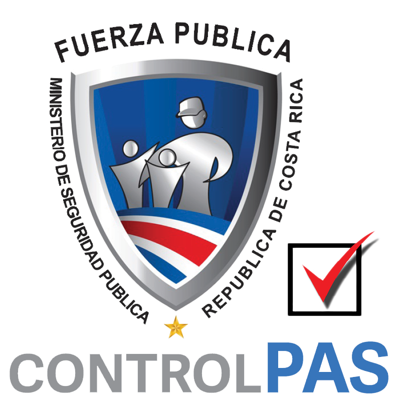 Fuerza Publica Badge Control Pas & Check2